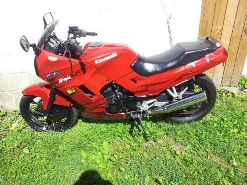 2006 candy red kawasaki ninja 250r for sale in richmond kentucky classified. Black Bedroom Furniture Sets. Home Design Ideas
