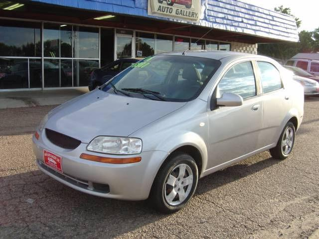 2006 chevrolet aveo ls for sale in greeley colorado. Black Bedroom Furniture Sets. Home Design Ideas