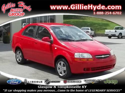 2006 chevrolet aveo sedan ls for sale in dry fork. Black Bedroom Furniture Sets. Home Design Ideas