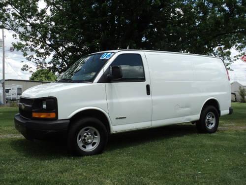 2006 chevrolet express 2500 cargo van full size cargo van for sale in bermudian pennsylvania. Black Bedroom Furniture Sets. Home Design Ideas