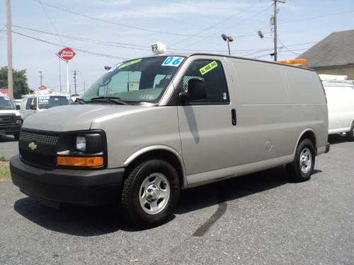 2006 chevrolet express awd cargo van full size cargo van. Black Bedroom Furniture Sets. Home Design Ideas