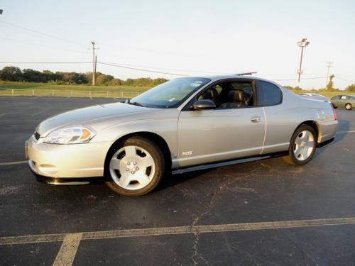 2006 chevrolet monte carlo 2 dr coupe ss for sale in mineral wells mississippi classified. Black Bedroom Furniture Sets. Home Design Ideas
