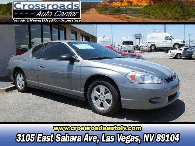 2006 chevrolet monte carlo lt for sale in las vegas. Black Bedroom Furniture Sets. Home Design Ideas
