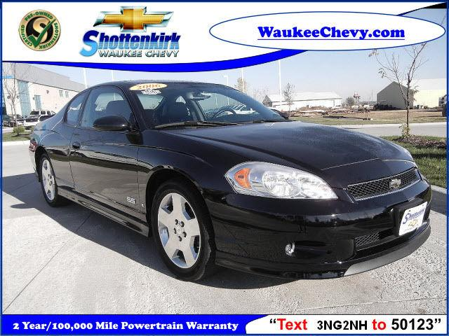 2006 chevrolet monte carlo ss for sale in waukee iowa. Black Bedroom Furniture Sets. Home Design Ideas