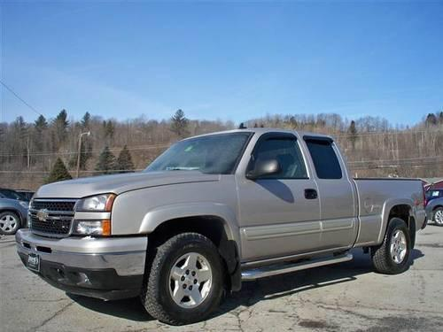 2006 chevrolet silverado 1500 extended cab ls pickup 4d 6. Black Bedroom Furniture Sets. Home Design Ideas