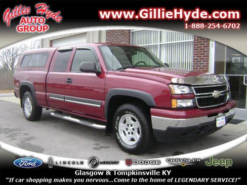 2006 Chevrolet Silverado 1500 Work Truck 4dr Extended Cab: 2006 Chevrolet Silverado 1500 Extended Cab Pickup 4X4 Z71