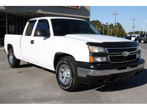 2006 chevrolet silverado 1500 extended cab pickup truck work truck for sale in florence south. Black Bedroom Furniture Sets. Home Design Ideas