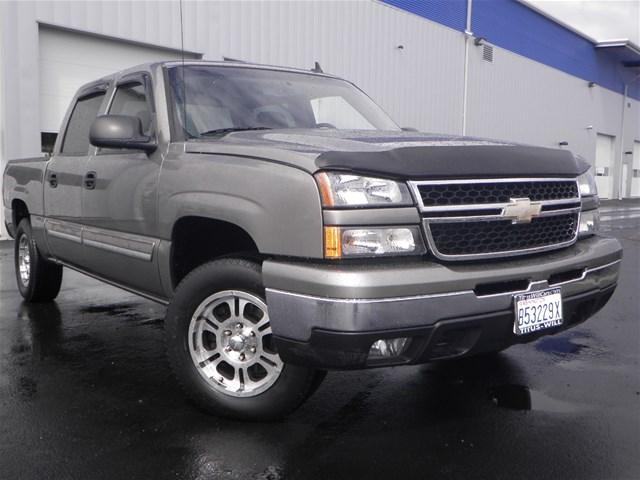 2006 chevrolet silverado 1500 lt1 4dr crew cab 4wd 5 8 ft sb for sale in tacoma washington. Black Bedroom Furniture Sets. Home Design Ideas