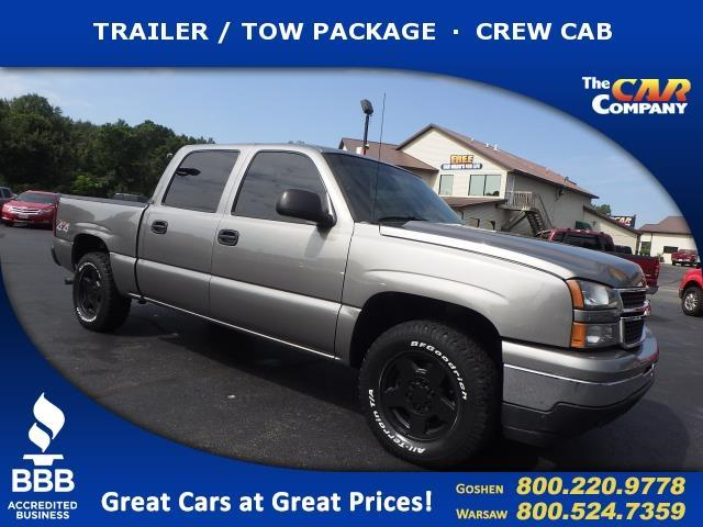 2006 chevrolet silverado 1500 lt1 lt1 4dr crew cab 4wd 5 8 ft sb for sale in warsaw indiana. Black Bedroom Furniture Sets. Home Design Ideas