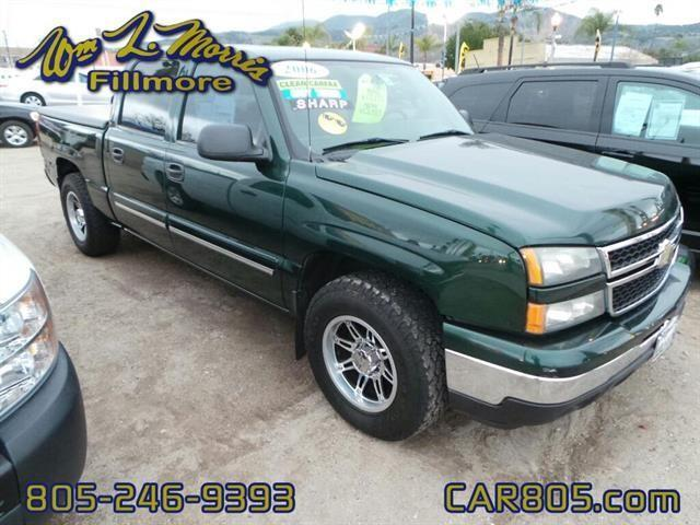 2006 chevrolet silverado 1500 lt1 lt1 4dr crew cab 5 8 ft sb for sale in fillmore california. Black Bedroom Furniture Sets. Home Design Ideas