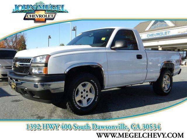 2006 chevrolet silverado 1500 w t for sale in dawsonville georgia classified. Black Bedroom Furniture Sets. Home Design Ideas