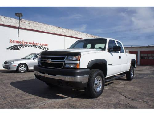 2006 chevrolet silverado 2500hd extended cab pickup 4x4 ls for sale in sapulpa oklahoma. Black Bedroom Furniture Sets. Home Design Ideas
