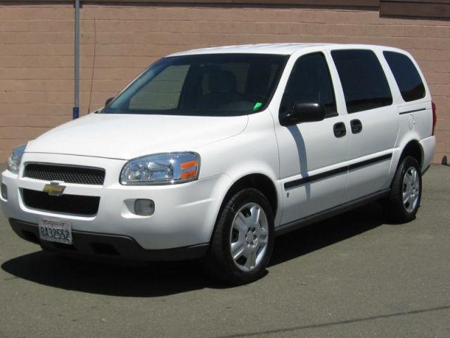 2006 chevrolet uplander cargo van for sale in vallejo california classified. Black Bedroom Furniture Sets. Home Design Ideas