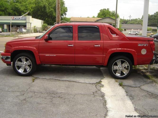 2006 chevy avalanche lt for sale in chattanooga tennessee classified. Black Bedroom Furniture Sets. Home Design Ideas