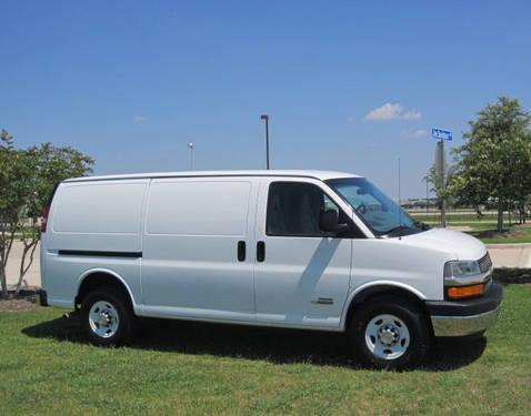 chevy express 350 van