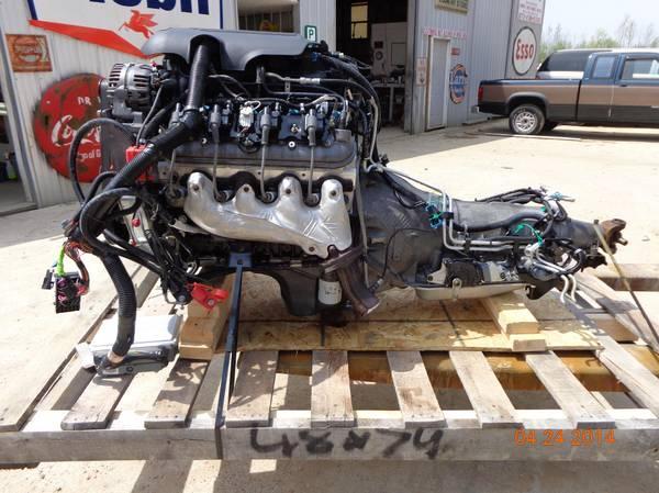 2006 Chevy Lq4 6 0 Vortec Egine And 2wd 4l80e Transmission