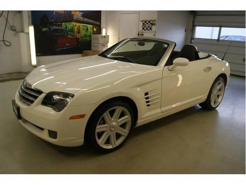 2006 chrysler crossfire convertible 2dr roadster limited for sale in cuyahoga falls ohio. Black Bedroom Furniture Sets. Home Design Ideas