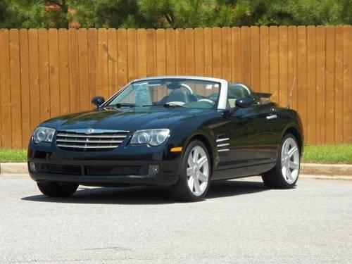 2006 chrysler crossfire convertible limited for sale in seneca south carolina classified. Black Bedroom Furniture Sets. Home Design Ideas