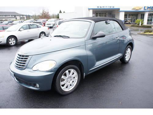 2006 Chrysler Pt Cruiser Convertible Touring For Sale In
