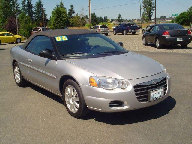 2006 chrysler sebring gtc convertible lease return for sale in five corners washington. Black Bedroom Furniture Sets. Home Design Ideas