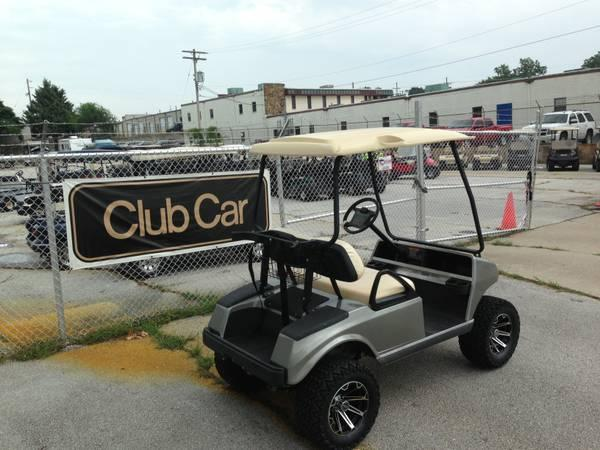 2006 CLUB CAR LIFTED GAS - $4650