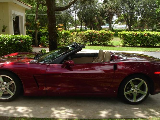 2006 corvette convertible automatic with all options warranty for sale in miami florida. Black Bedroom Furniture Sets. Home Design Ideas