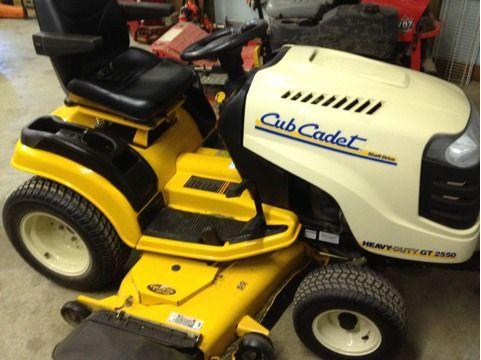 2006 Cub Cadet Heavy Duty Gt 2550 Lawn Mower Spencer