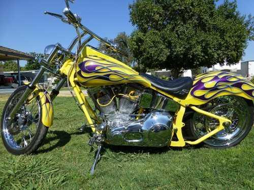 2006 Custom Softail Chopper in Fresno, CA