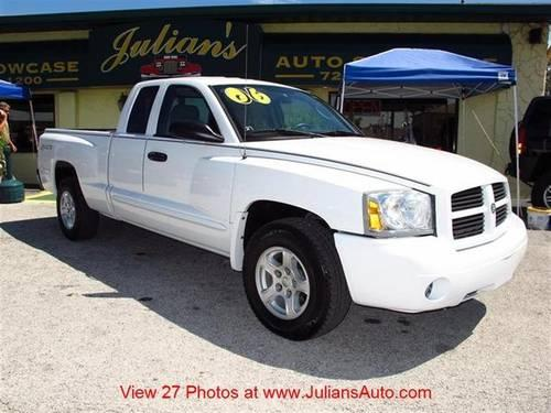 2006 dodge dakota truck club cab for sale in new port. Black Bedroom Furniture Sets. Home Design Ideas