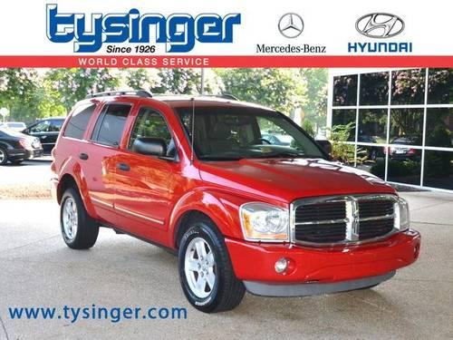 2006 dodge durango 4d sport utility limited for sale in Tysinger motor company