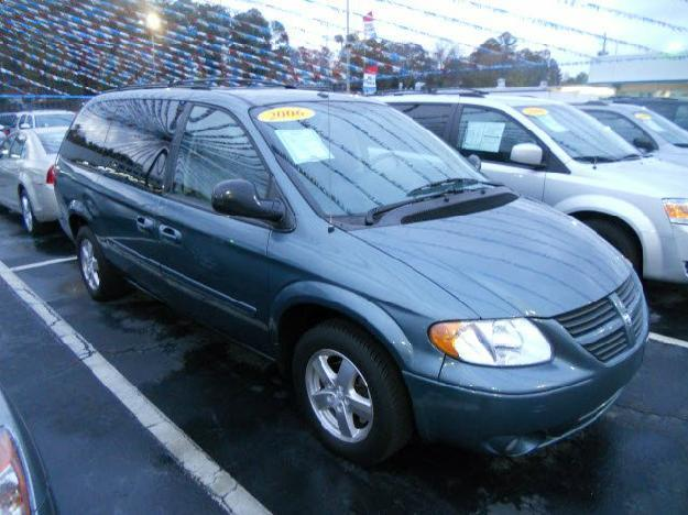 2006 dodge grand caravan 4dr sxt for sale in camden. Black Bedroom Furniture Sets. Home Design Ideas