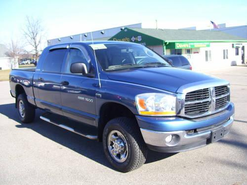 2006 dodge ram 1500 truck mega cab for sale in jackson michigan classified. Black Bedroom Furniture Sets. Home Design Ideas
