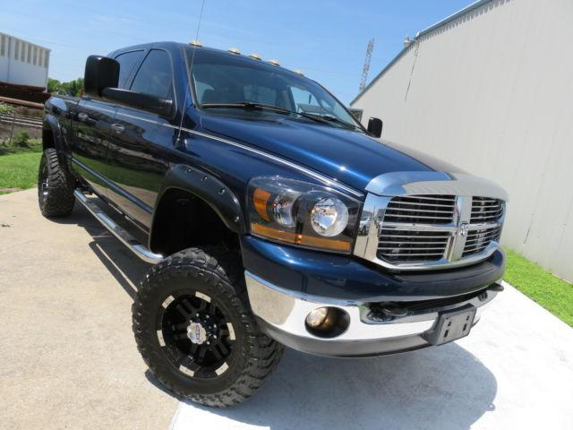 2006 dodge ram 2500 slt mega cab 5 9 cummins lifted 4x4 for sale in san francisco california. Black Bedroom Furniture Sets. Home Design Ideas