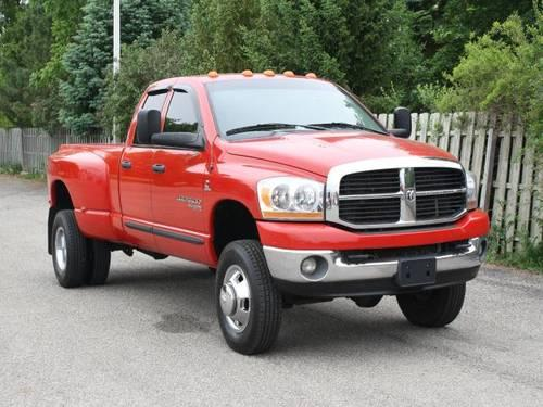 2006 dodge ram 3500 crew cab pickup 4dr quad cab 160 5 drw 4wd slt for sale in lowell michigan. Black Bedroom Furniture Sets. Home Design Ideas
