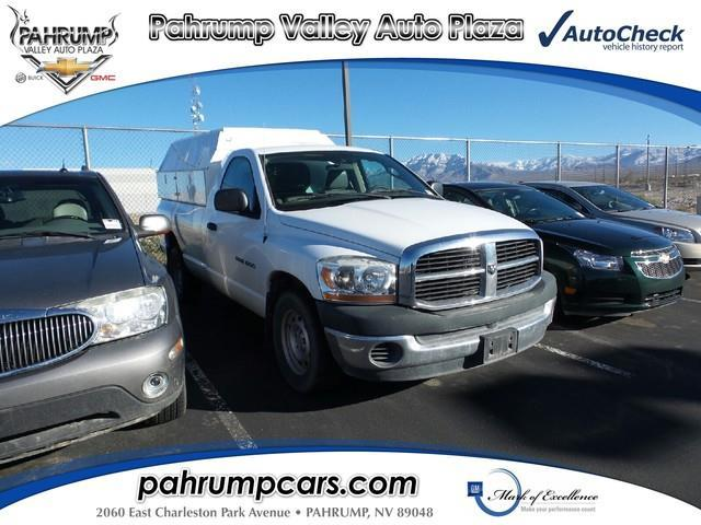 2006 Dodge Ram Pickup 1500 Laramie Laramie 2dr Regular