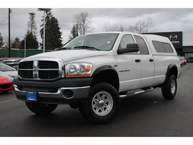 2006 dodge ram pickup 2500 laramie laramie 4dr quad cab 4wd sb for sale in everett washington. Black Bedroom Furniture Sets. Home Design Ideas