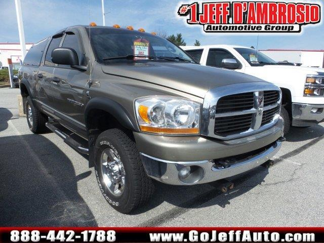 2006 dodge ram pickup 2500 slt slt 4dr quad cab 4wd sb for sale in downingtown pennsylvania. Black Bedroom Furniture Sets. Home Design Ideas