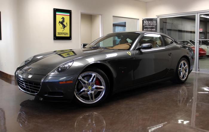 2006 ferrari 612 scaglietti for sale in atlanta georgia. Black Bedroom Furniture Sets. Home Design Ideas
