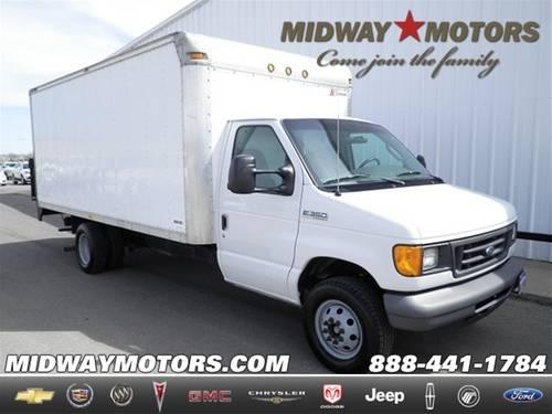 2006 Ford E-350 Cutaway Chassis Box Truck for sale in Hutchinson, Kansas