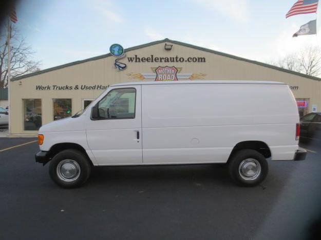 2006 ford e350 cargo van wheeler auto springfield missouri for sale in springfield missouri. Black Bedroom Furniture Sets. Home Design Ideas