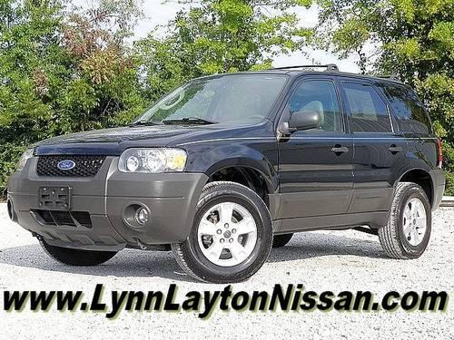 2006 ford escape xlt for sale in decatur alabama classified. Black Bedroom Furniture Sets. Home Design Ideas