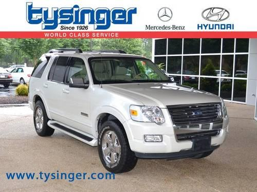 2006 ford explorer 4d sport utility limited for sale in Tysinger motor company