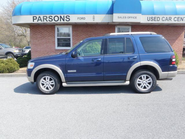 2006 Ford Explorer Eddie Bauer For Sale In Martinsburg West Virginia Classified