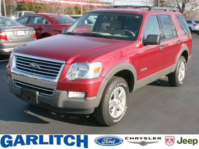 2006 ford explorer xlt for sale in north vernon indiana classified. Black Bedroom Furniture Sets. Home Design Ideas