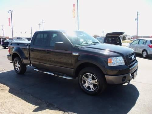 2006 ford f 150 crew cab pickup supercrew flareside 150 fx4 4wd for sale in elkhart indiana. Black Bedroom Furniture Sets. Home Design Ideas