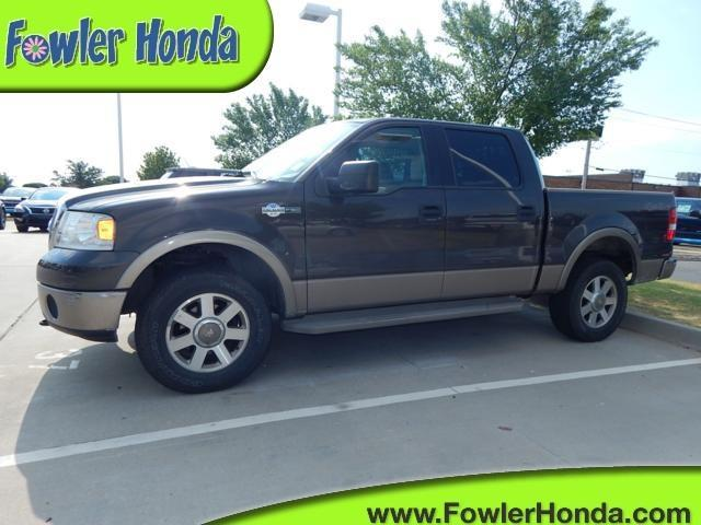 2006 ford f 150 king ranch king ranch 4dr supercrew 4wd styleside 5 5 ft sb for sale in norman. Black Bedroom Furniture Sets. Home Design Ideas