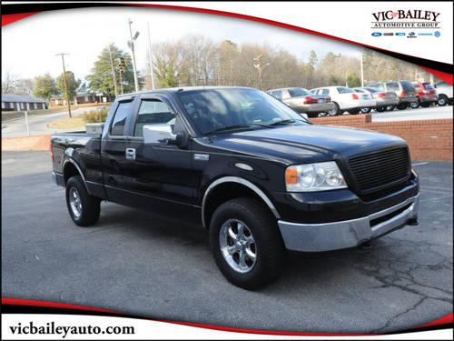 2006 ford f 150 super cab pickup 4x4 xlt for sale in spartanburg south carolina classified. Black Bedroom Furniture Sets. Home Design Ideas