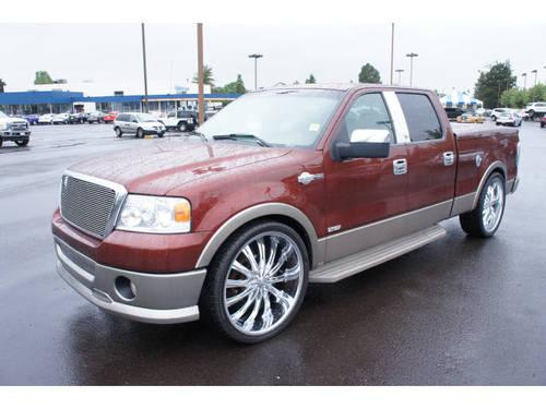 2006 ford f 150 supercrew 4x4 king ranch for sale in salem oregon classified. Black Bedroom Furniture Sets. Home Design Ideas
