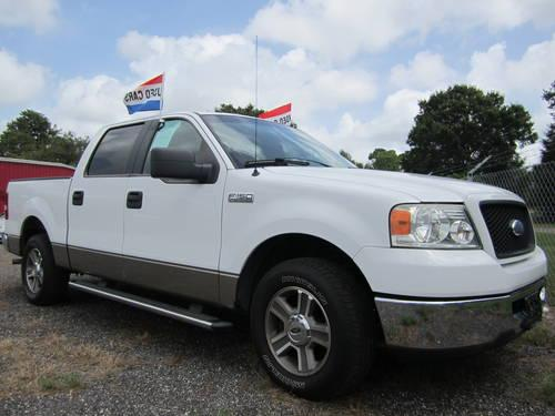 2006 ford f 150 supercrew xlt 5 4 triton for sale in fort. Black Bedroom Furniture Sets. Home Design Ideas