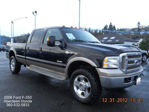 2006 ford f 350 king ranch for sale in aberdeen washington classified. Black Bedroom Furniture Sets. Home Design Ideas